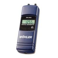 WÖHLER DM 2000 DIGITAL MANOMETER IN PA