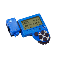 Haglof DP GPS DME module. GPS navigation and distance measuring with ultrasound.