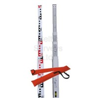 Fiberglass Staff, 5m, five section, E type with Carry Bag