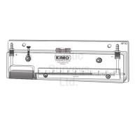 HP 10 MANOMETER - INCLINED LIQUID COLUMN