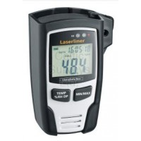 Laserliner - ClimaData-Box - Digital hygrometer, measure Ambient Temperature, Humidity, Dew Point