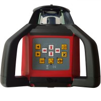 Fukuda FRE203X-HVR Red,  Self Levelling in Horizontal and Vertical with manual grade in X and Y, Squaring and Plumbing