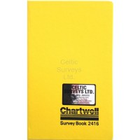 Chartwell Survey Book 2416Z - Rise &  Fall - Level Book  (120 x 190mm) - Weather Resistant