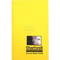 Chartwell Survey Book 2426Z - Height of Collimation - Level Book  (120 x 190mm) - Weather Resistant