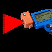 Haglof DP Scanner. Barcode scanning.