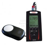 Kimo Digital Luxmeter LX 200 - Measuring range 0.1 to 200,000 lux