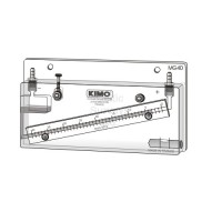 MG 80 MANOMETER - Inclined Liquid Column, 0-80 mmH2O or 0-800Pa