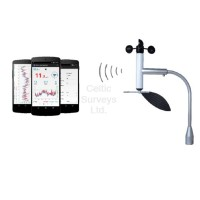 Navis Windy B/SD - Smartphone Anemometer - Measures wind speed, direction & temperature
